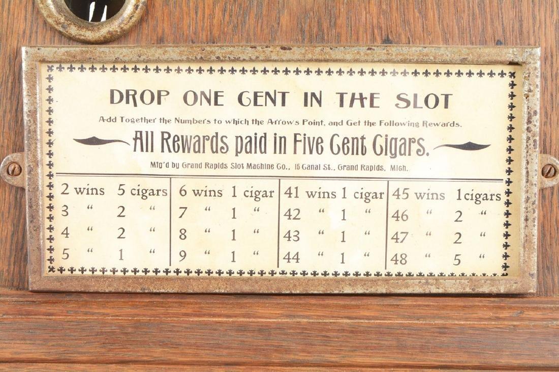 **1¢ Grand Rapids Slot Machine Co. Trade Stimulator. - 4