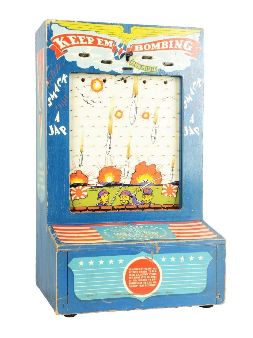 1¢ Keep Em Bombing Game.