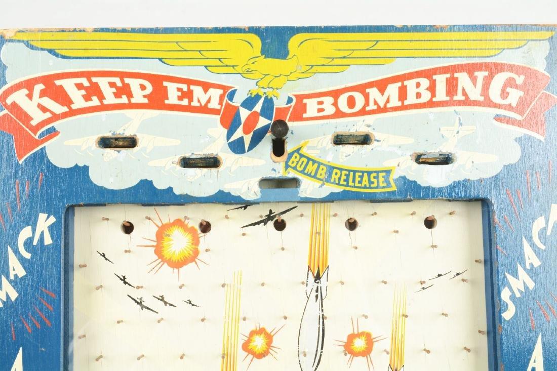 1¢ Keep Em Bombing Game. - 3
