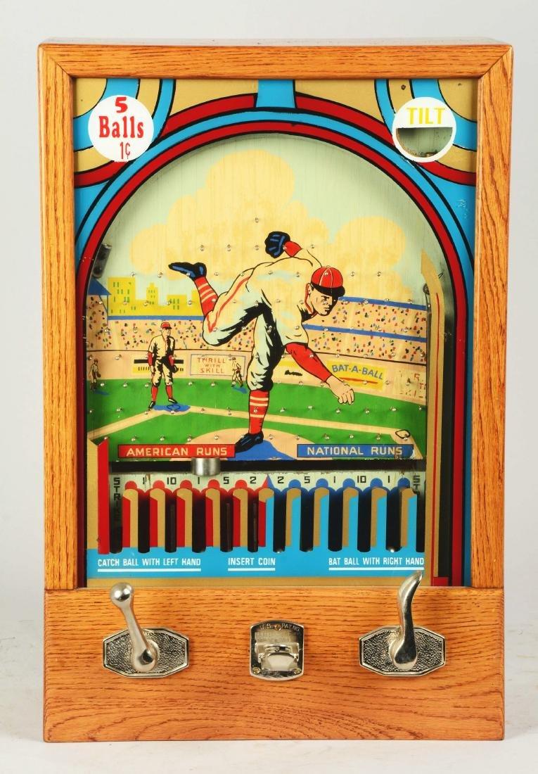 1¢ Munves Bat-A-Ball Arcade Game. - 2