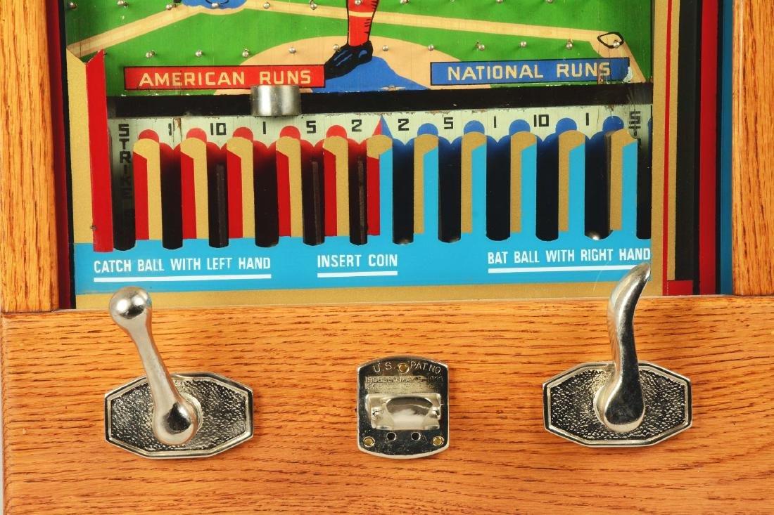 1¢ Munves Bat-A-Ball Arcade Game. - 4