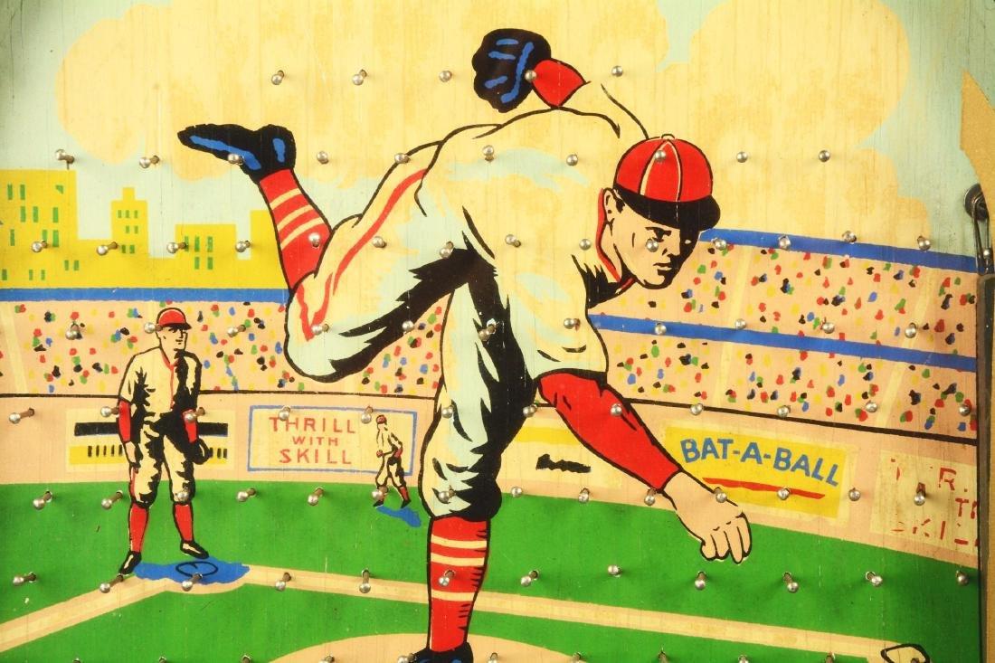 1¢ Munves Bat-A-Ball Arcade Game. - 5