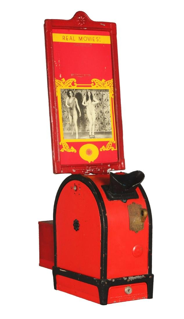 10¢ Automatic International Mutoscope Viewer.