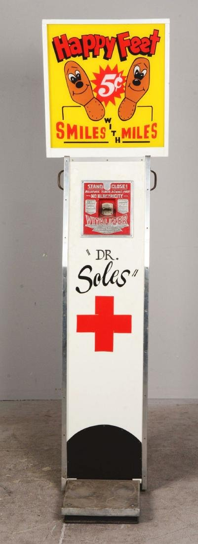 5¢ Exhibit Supply Co. The Vitalizer Amusement Machine. - 3