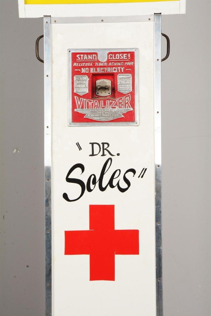 5¢ Exhibit Supply Co. The Vitalizer Amusement Machine. - 5