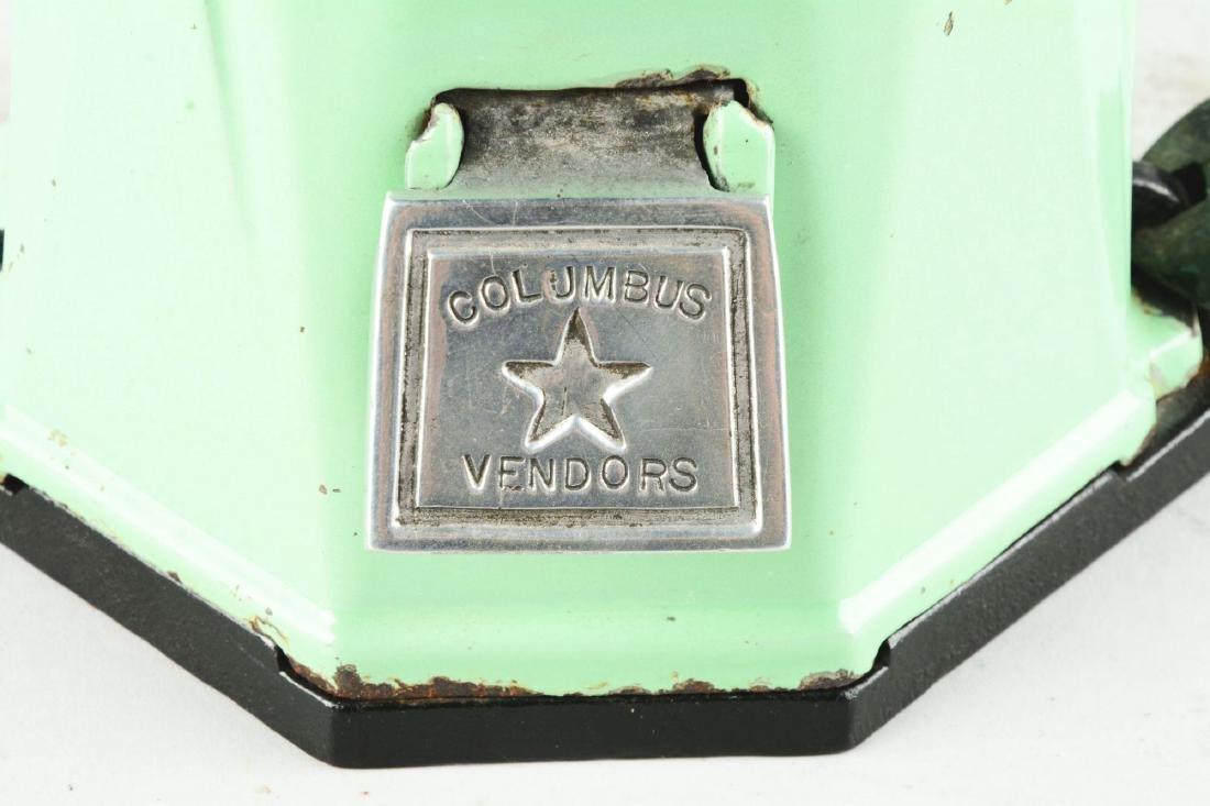 1¢ Columbus Model 21 Peanut Vending Machine. - 4