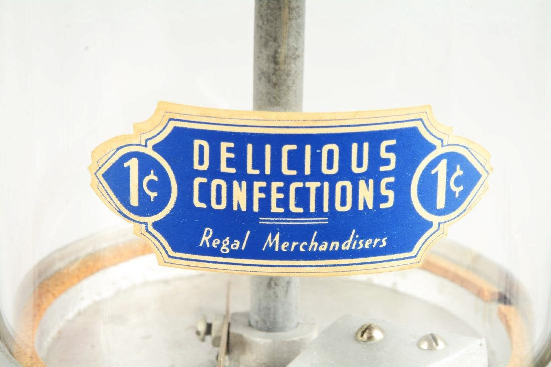 Lot Of 2: 1¢ Regal And Columbus Peanut Vending - 4