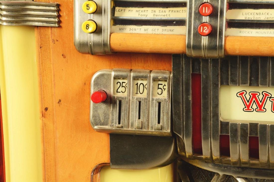 Multi-Coin Wurlitzer Model 1015 Jukebox. - 7
