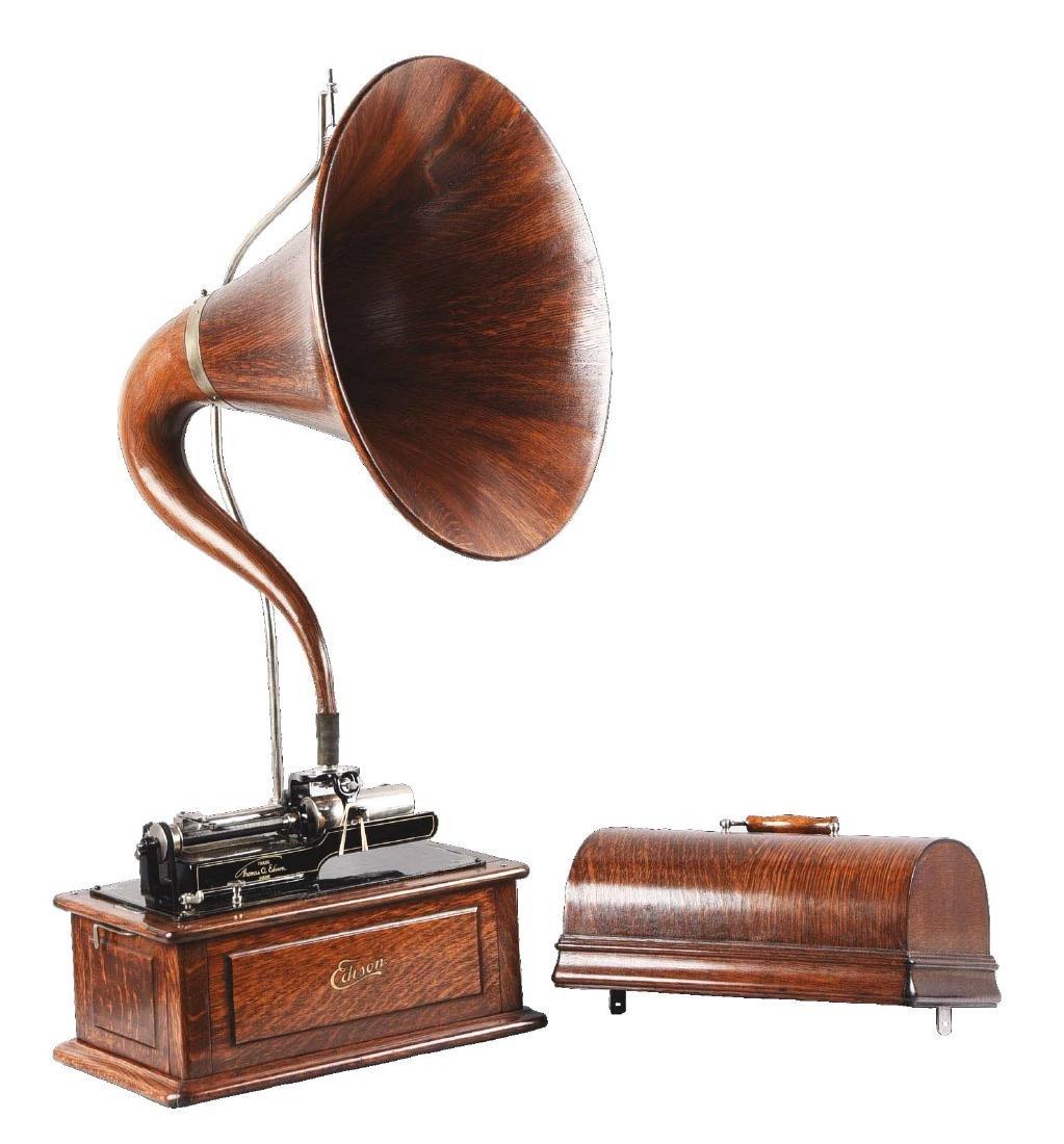 Edison Triumph Phonograph Model D.