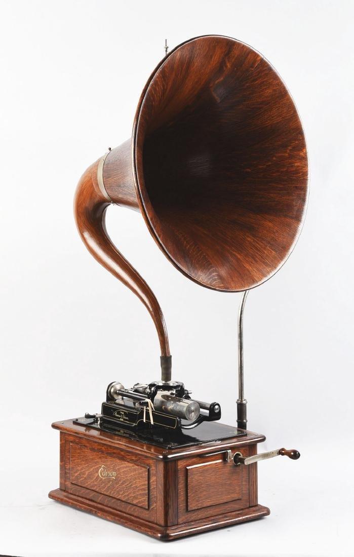 Edison Triumph Phonograph Model D. - 2