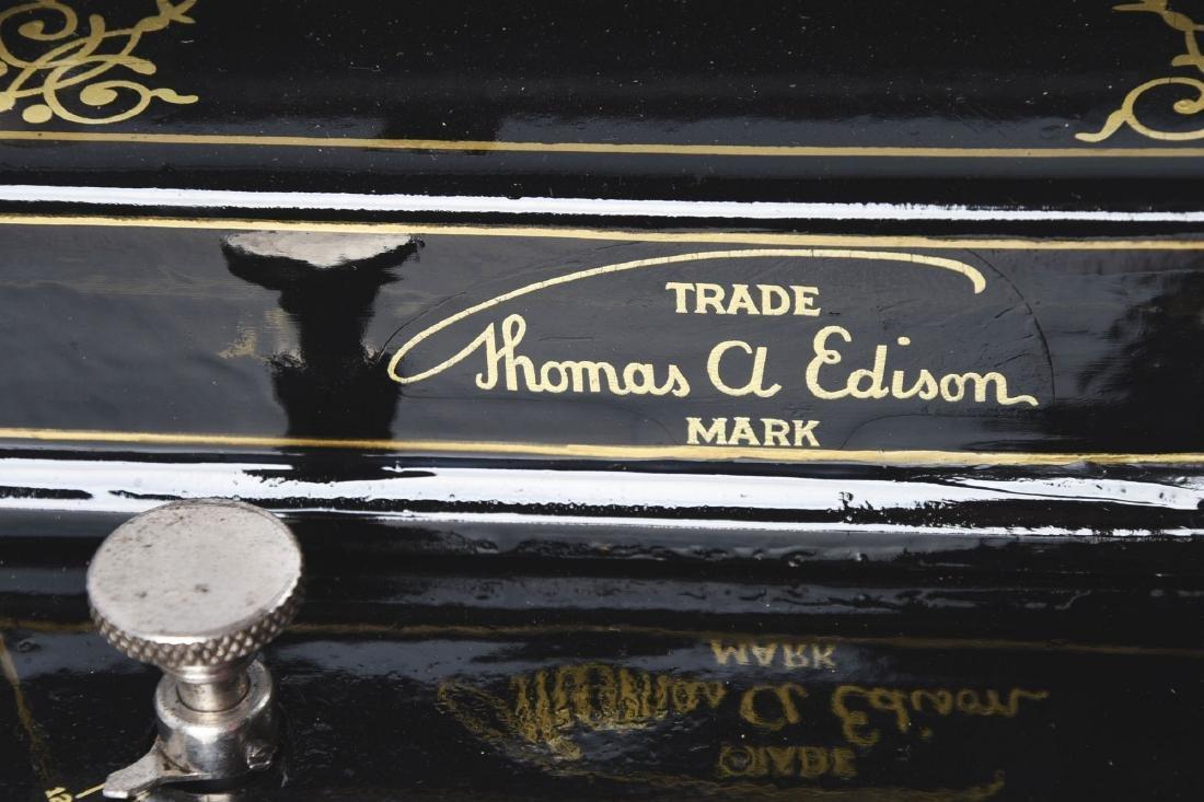 Edison Triumph Phonograph Model D. - 6
