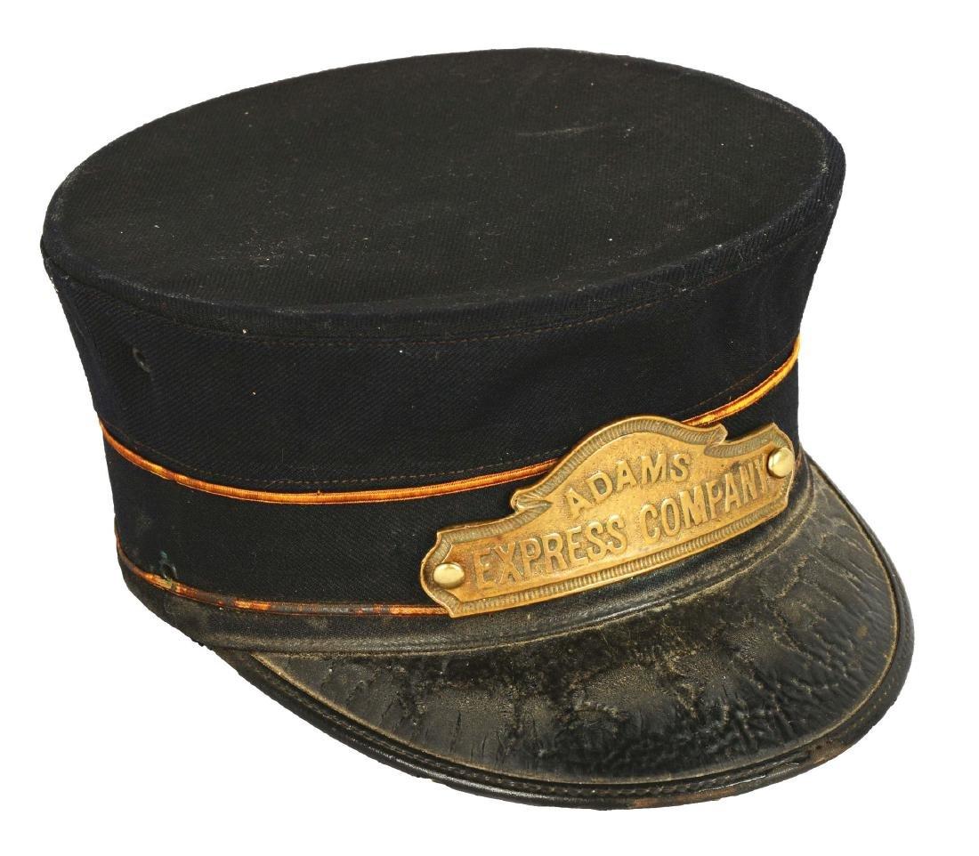 Adams Express Company Employee Hat.