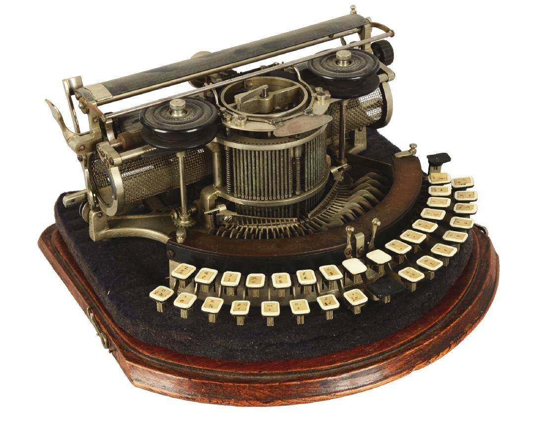 Hammond Multiplex Closed Ideal Typewriter.