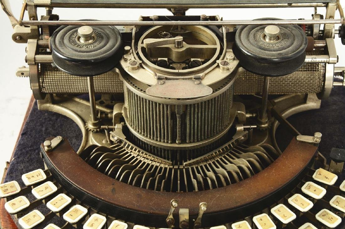 Hammond Multiplex Closed Ideal Typewriter. - 3