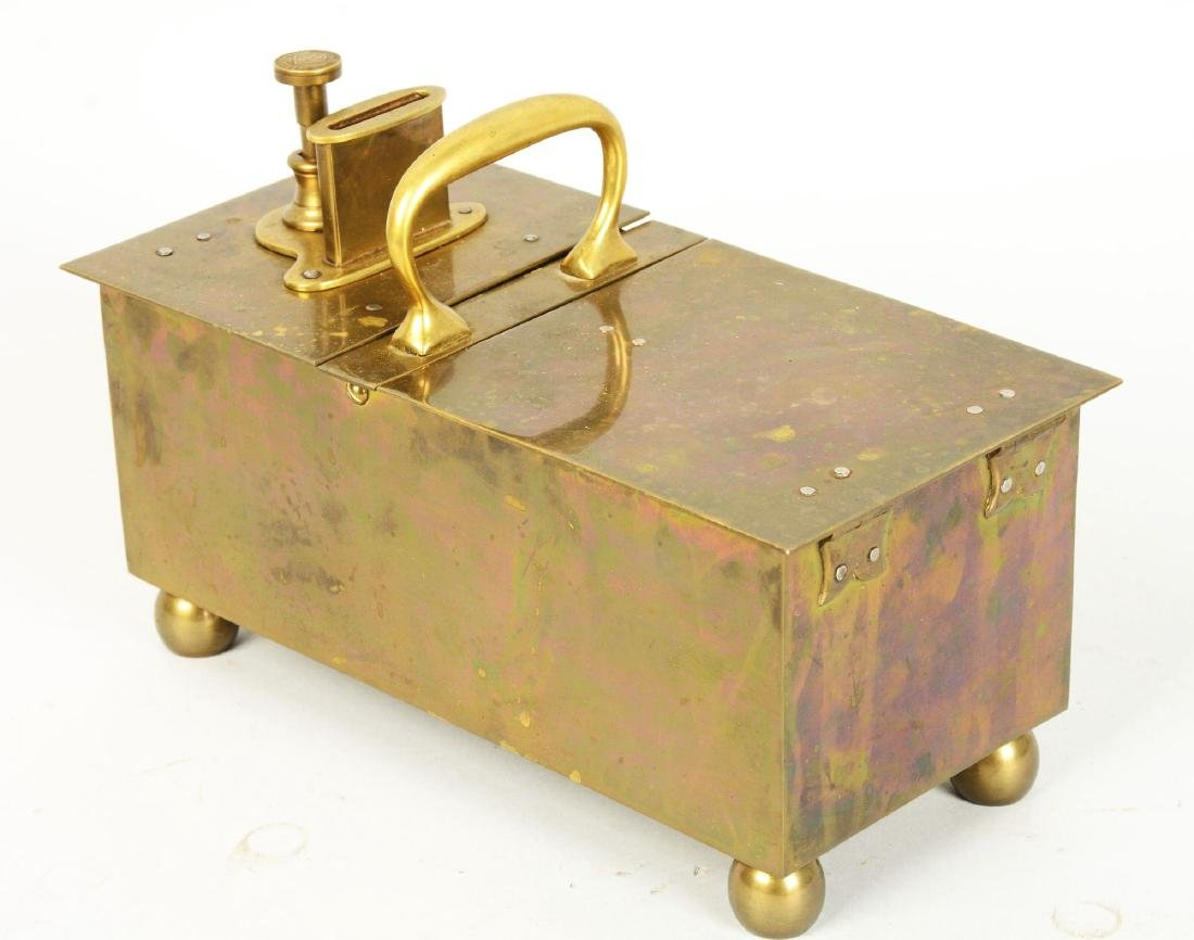 Ball & Ball Brass Honor Box. - 2