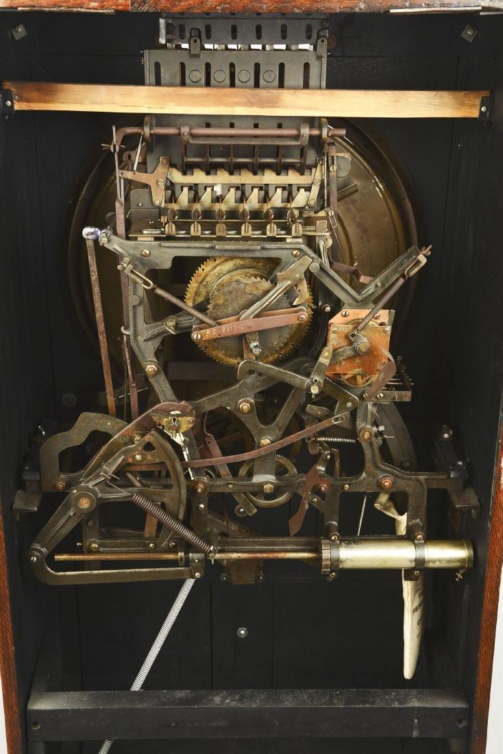 **5¢ Mills The Dewey Upright Floor Wheel Slot Machine. - 9