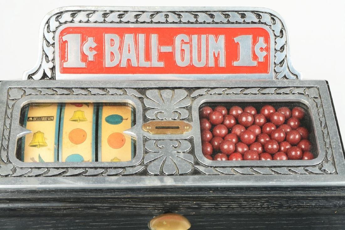1¢ Caille Ball Gum Vendor Trade Stimulator. - 3
