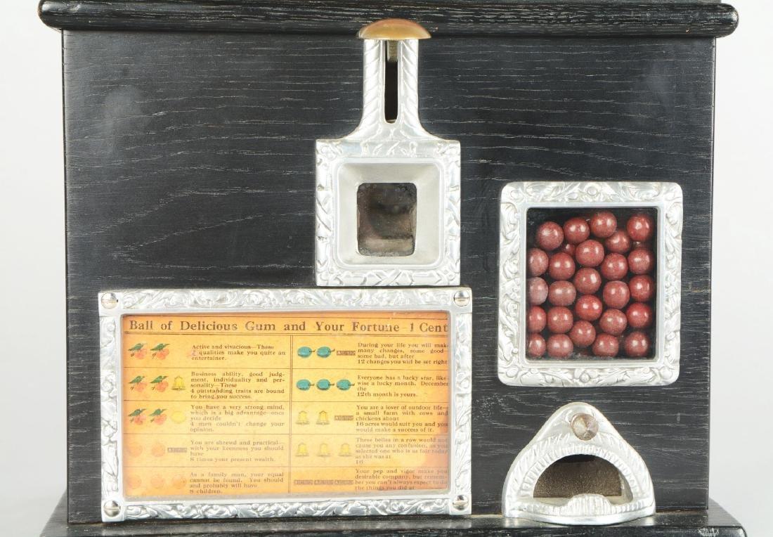 1¢ Caille Ball Gum Vendor Trade Stimulator. - 4