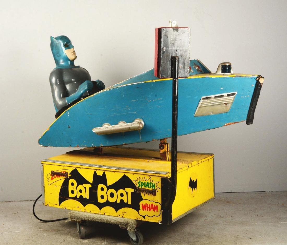 "Batman ""Bat Boat"" Children's Amusement Ride. - 2"