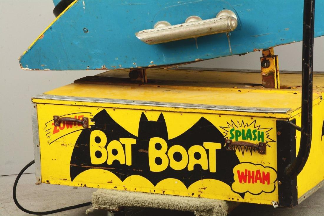 "Batman ""Bat Boat"" Children's Amusement Ride. - 4"