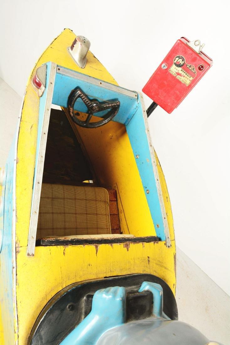 "Batman ""Bat Boat"" Children's Amusement Ride. - 7"