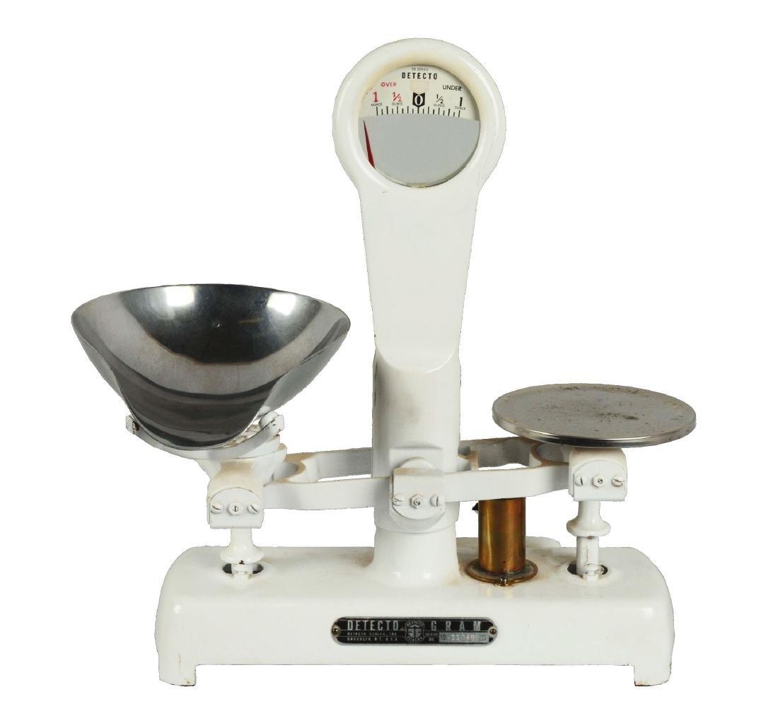 Detecto Gram 50 Series Balancing Scale.