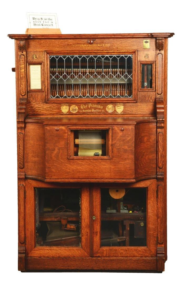 5¢ Wurlizter Pianino.