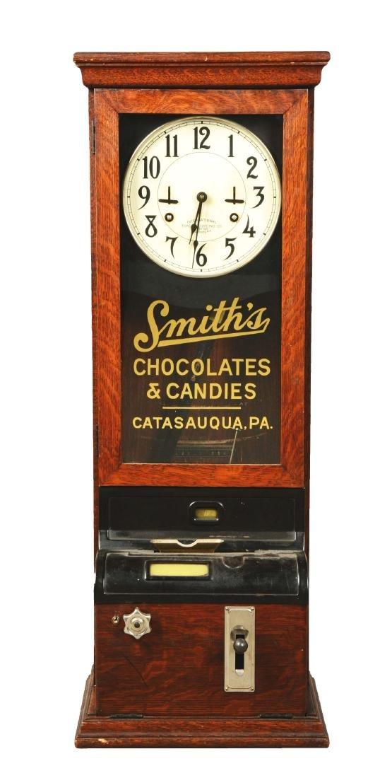 International Time Recording Co. Company Clock.