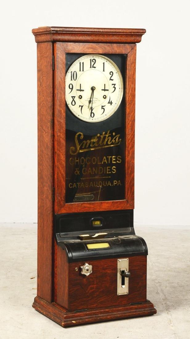 International Time Recording Co. Company Clock. - 2
