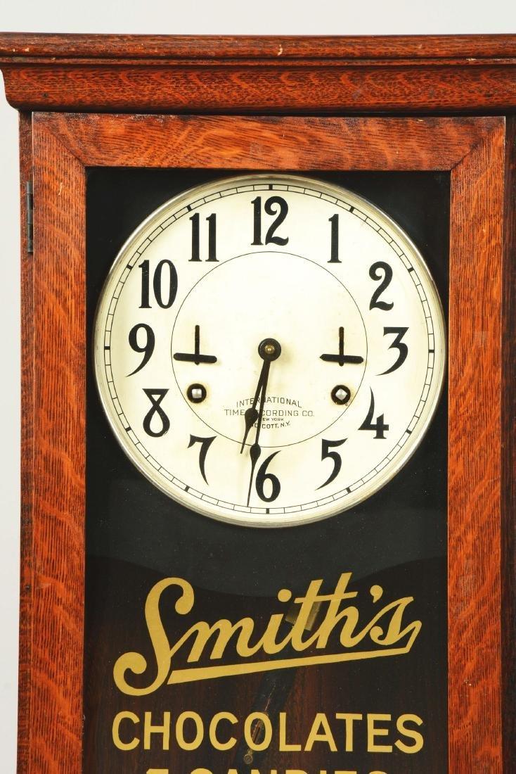International Time Recording Co. Company Clock. - 4