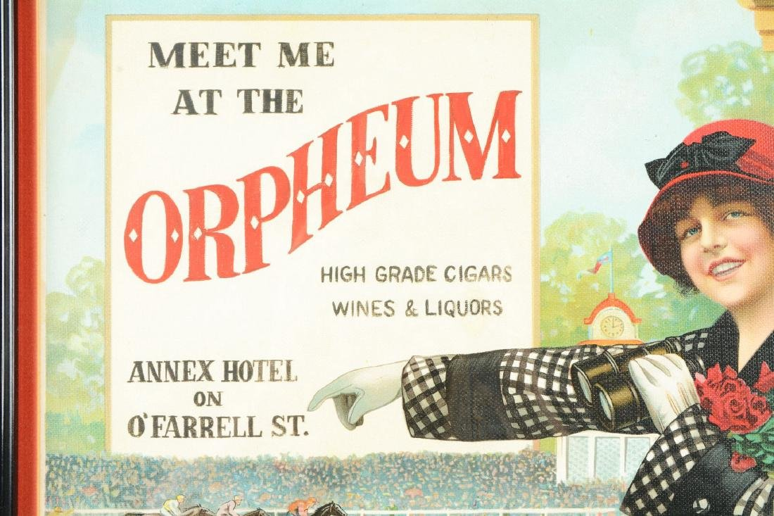 Meet Me At The Orpheum Cigar Advertisement. - 4