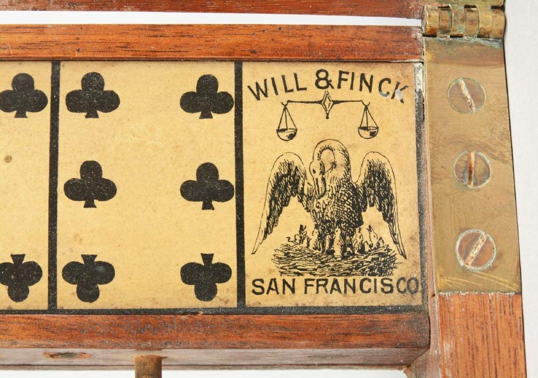 Lot Of 2: Will & Finck Faro Items. - 6