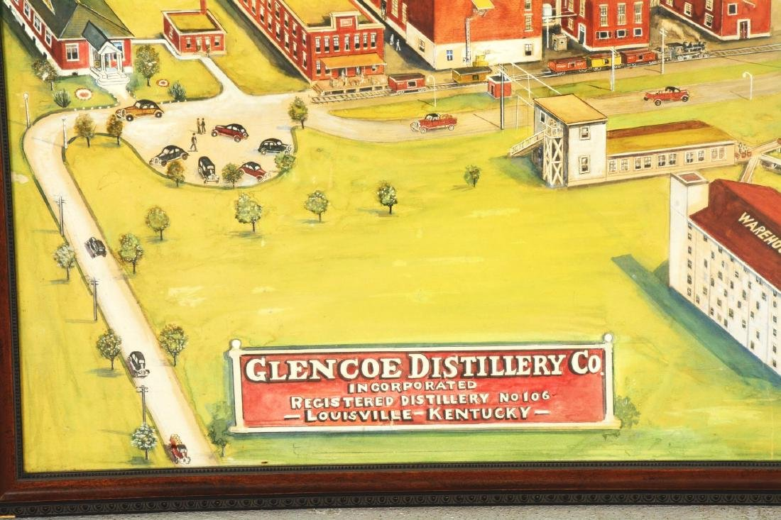 Glencoe Distillery Co. Painting. - 2