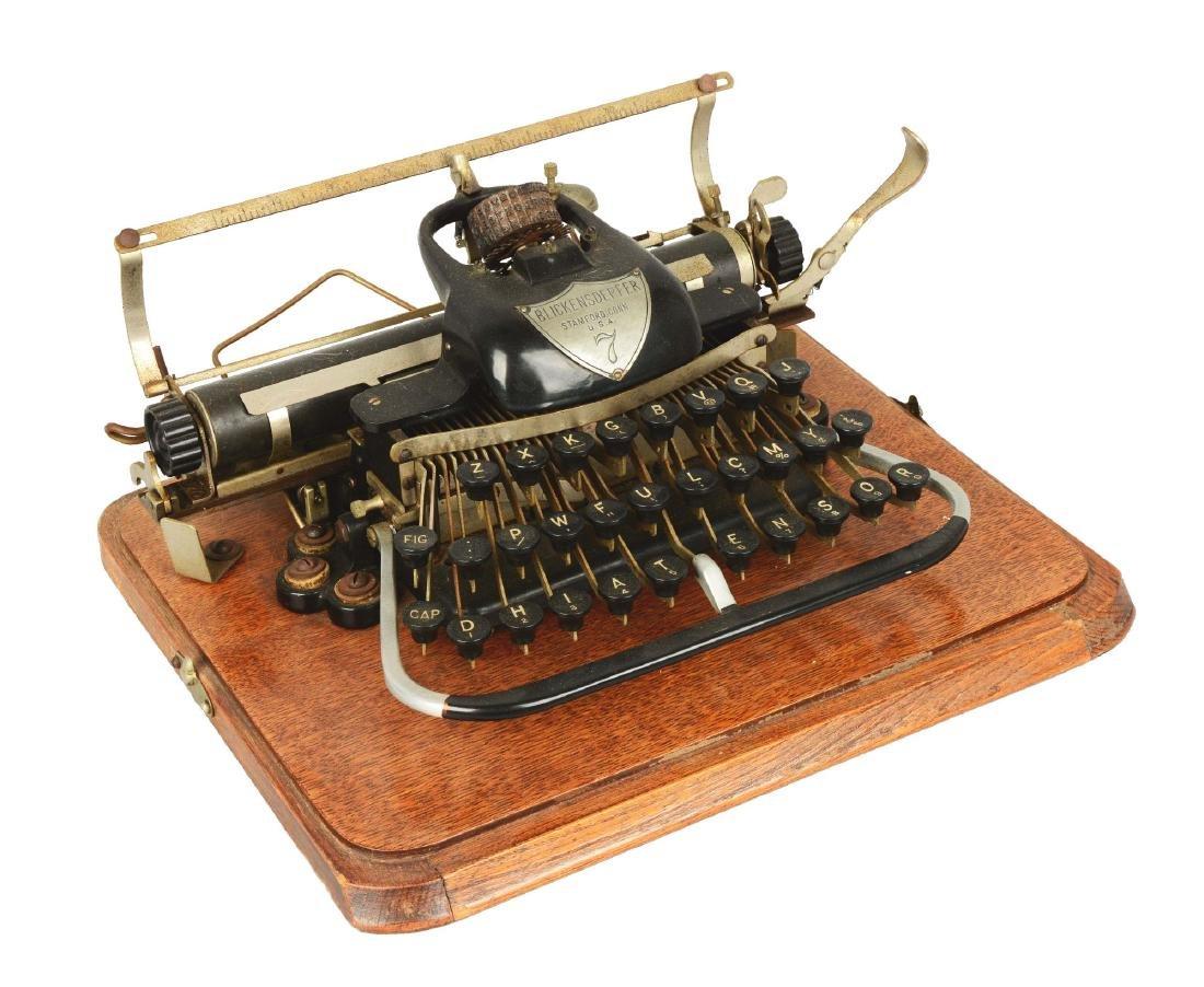 """Blickensderfer """"London Blick"""" Model 7 Typewriter."""