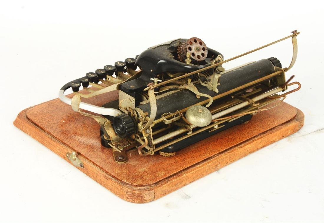 """Blickensderfer """"London Blick"""" Model 7 Typewriter. - 2"""