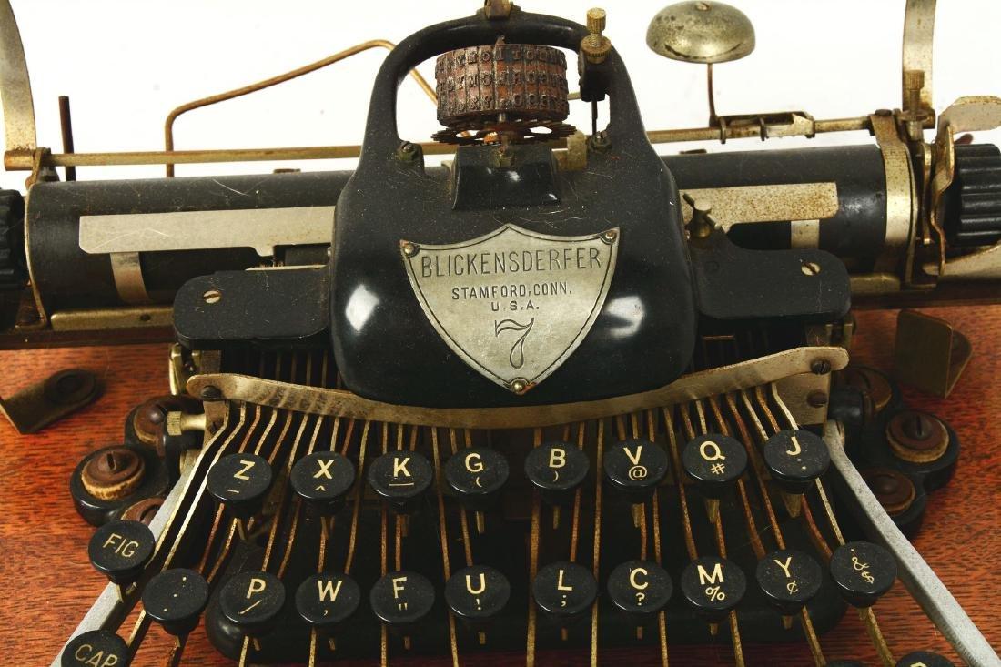 """Blickensderfer """"London Blick"""" Model 7 Typewriter. - 3"""