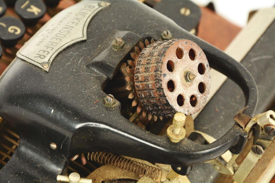 """Blickensderfer """"London Blick"""" Model 7 Typewriter. - 4"""