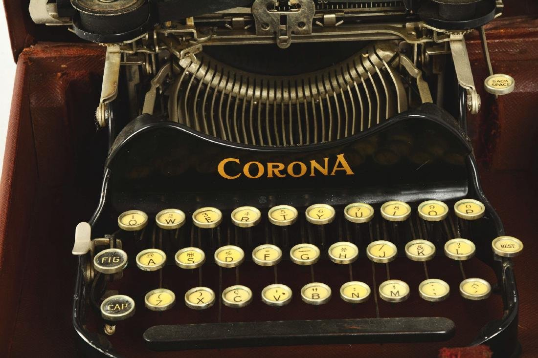Corona No. 3 Typewriter. - 3