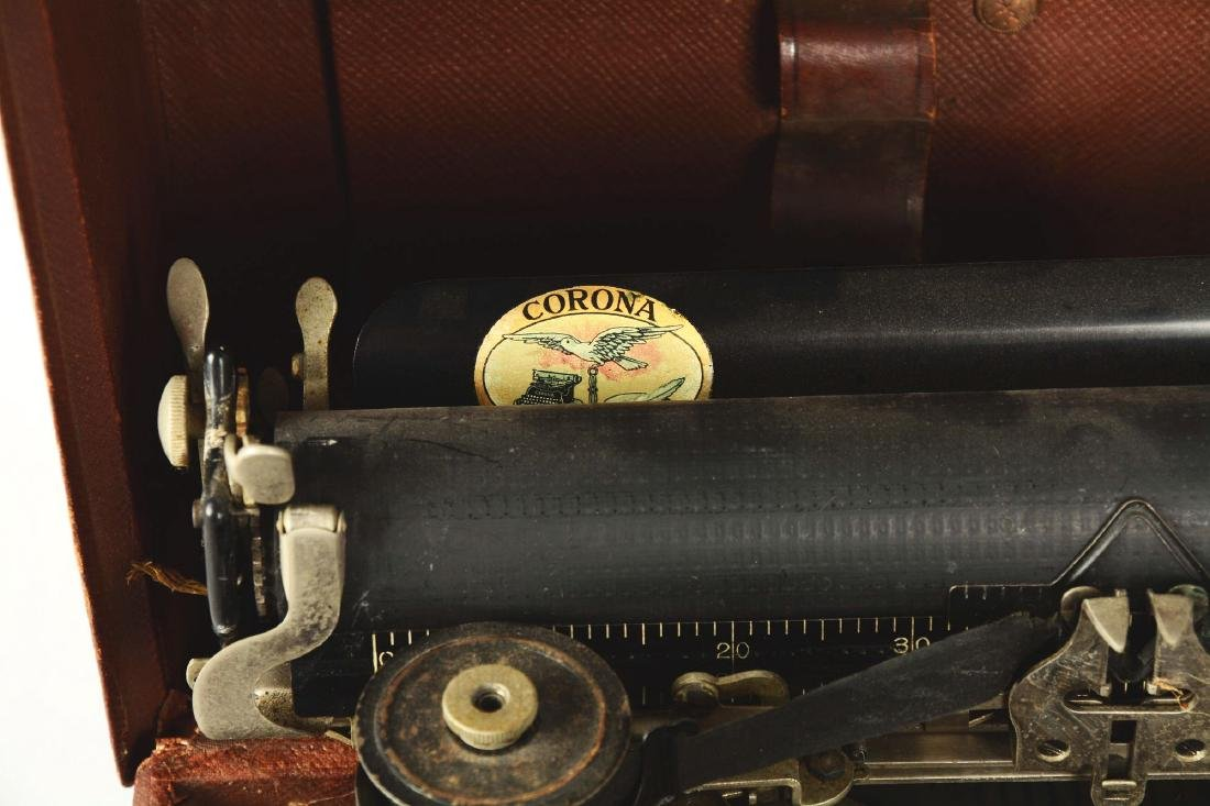 Corona No. 3 Typewriter. - 4