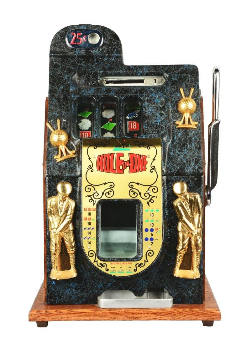 **Fantasy 25¢ Mills Hole In One Slot Machine.