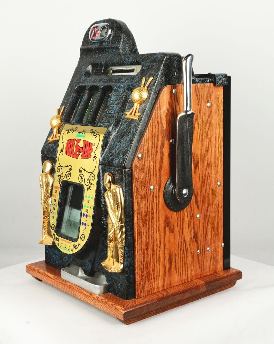 **Fantasy 25¢ Mills Hole In One Slot Machine. - 2