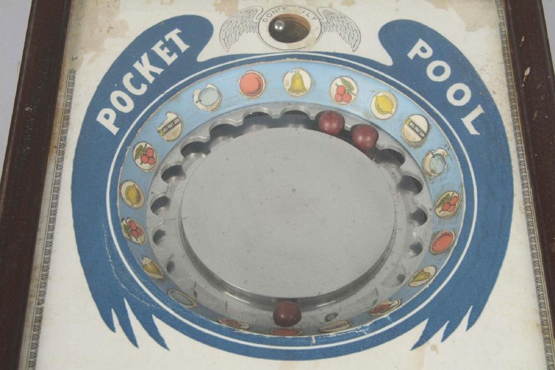 5¢ Kramer Pocket Pool Countertop Roulette Game. - 3