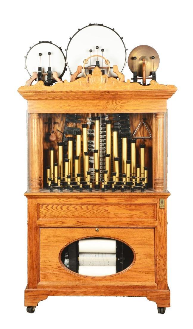 25¢ Model 143DG Carousel Organ.