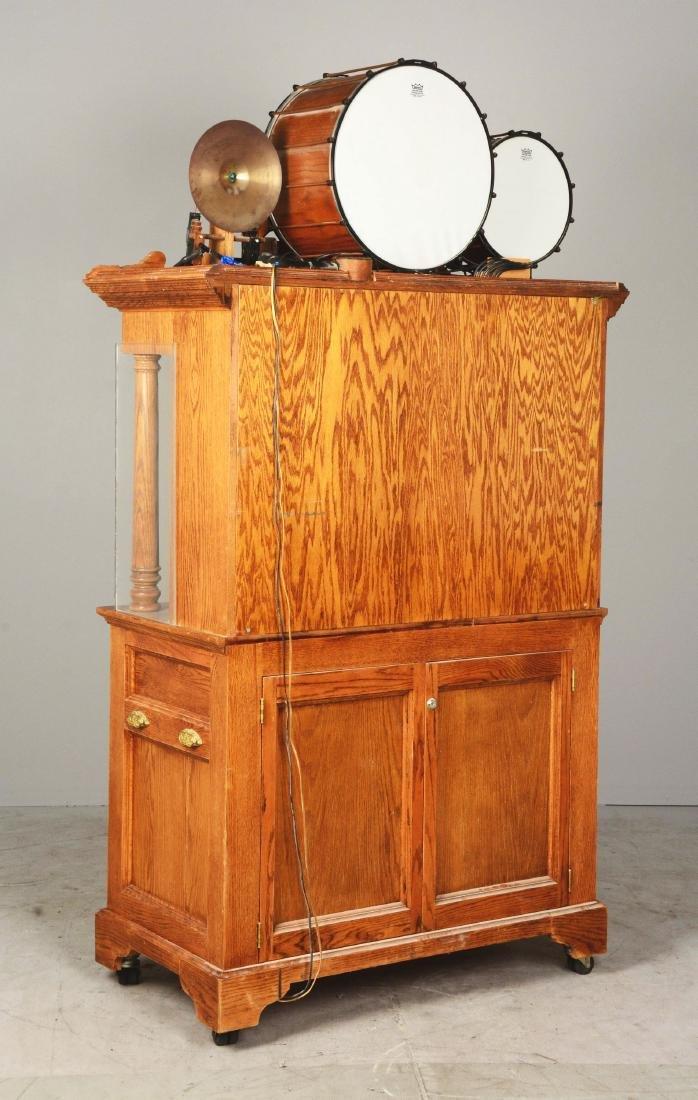 25¢ Model 143DG Carousel Organ. - 3