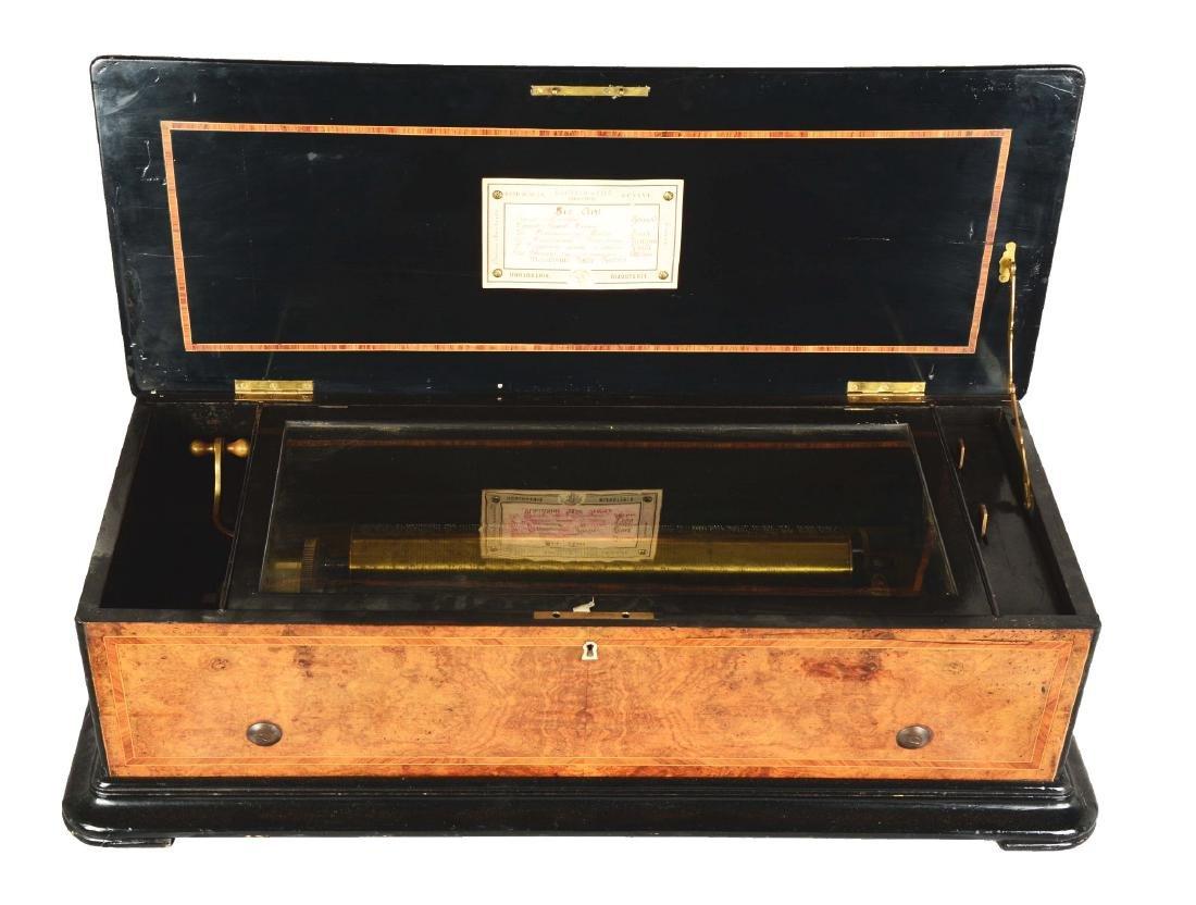 Berger & Fils Swiss Mandoline Music Box.