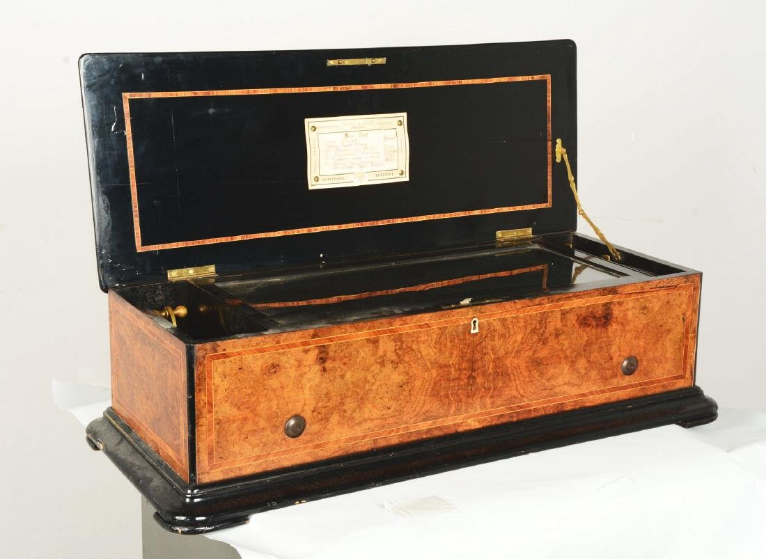 Berger & Fils Swiss Mandoline Music Box. - 2