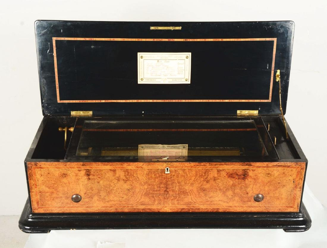 Berger & Fils Swiss Mandoline Music Box. - 5