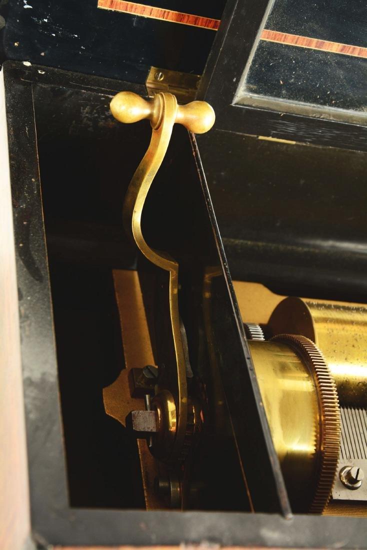 Berger & Fils Swiss Mandoline Music Box. - 9