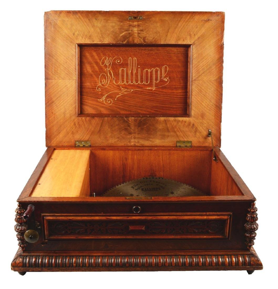 Kalliope Model 107 Music Box.
