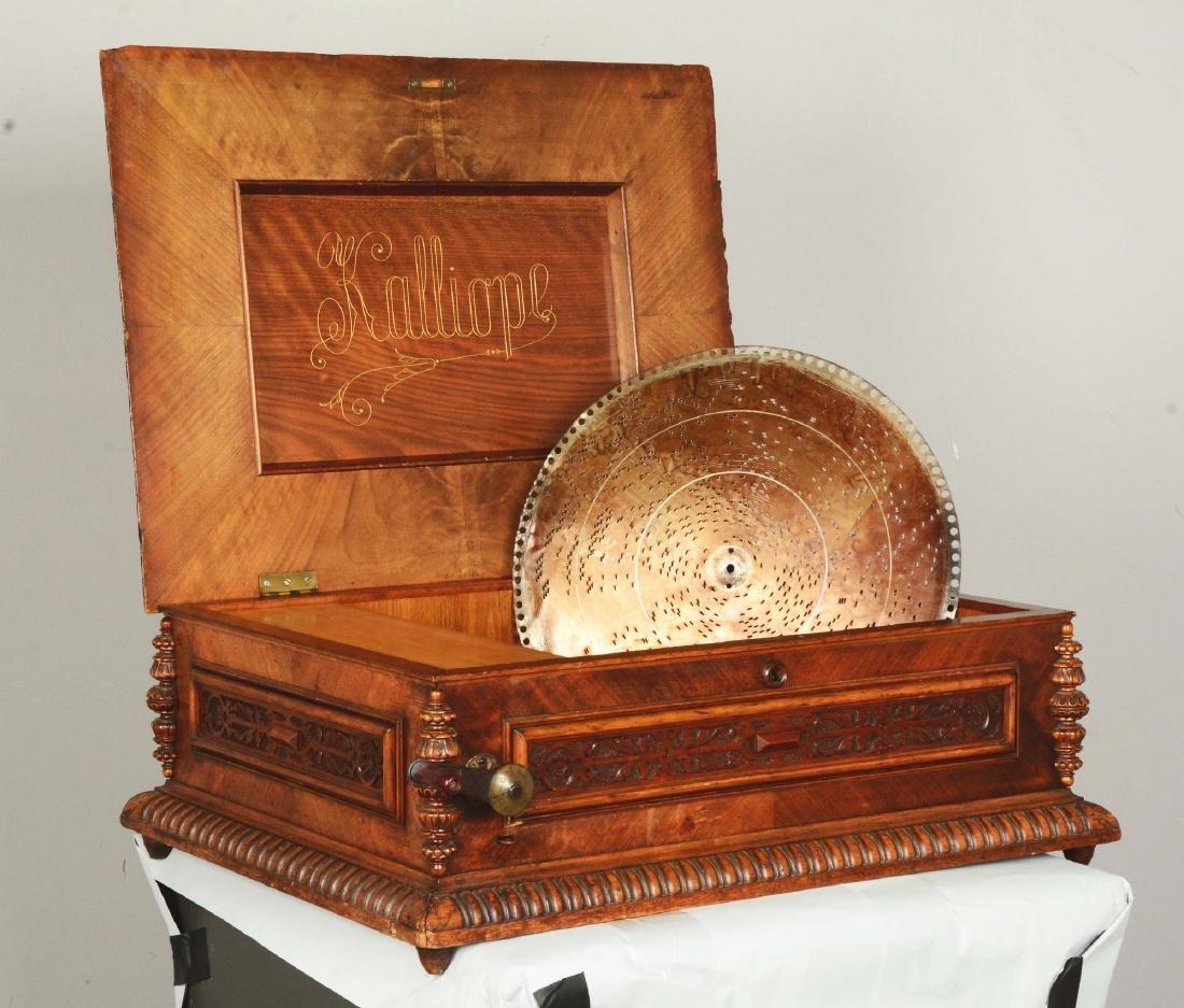 Kalliope Model 107 Music Box. - 2